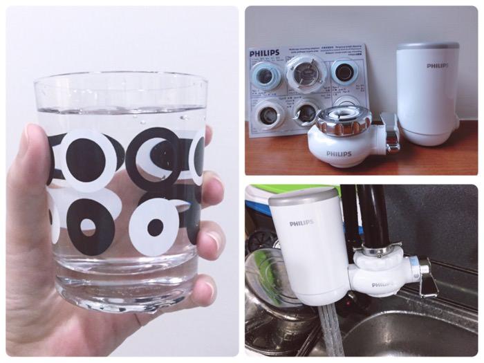 喝杯純淨水的簡單幸福♥飛利浦超濾龍頭式淨水器WP3812