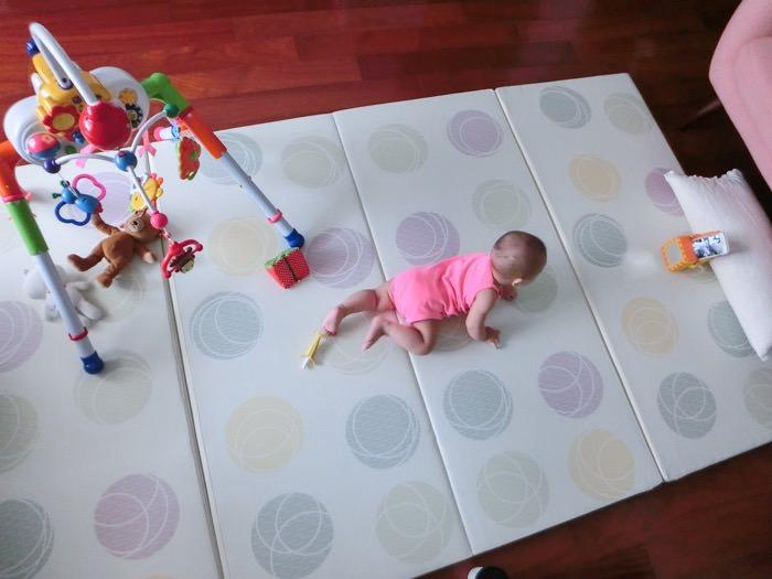 育兒│韓國4cm兒童遊戲折疊地墊
