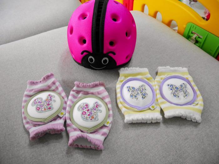 團購│陪伴寶寶探索世界的育兒好物♥學步防撞安全帽&成長護膝套