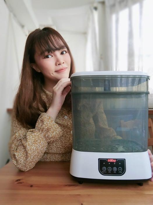 家有新生兒必備好物!極簡美學-Nuby蒸氣消毒烘乾鍋