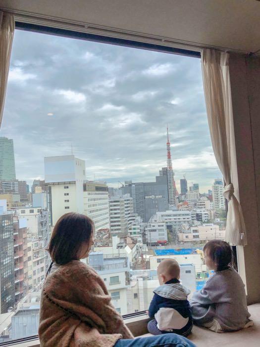 東京親子旅行│六本木光芒飯店  未滿12歲免費入住!房間可看東京鐵塔!