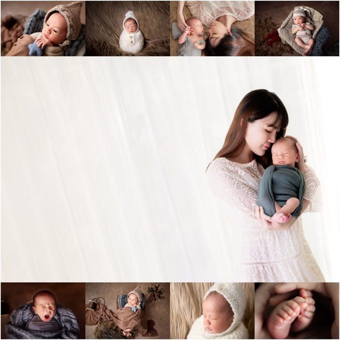 值得蒐藏一輩子的珍貴回憶  Cayson 12天大的新生兒寫真全記錄