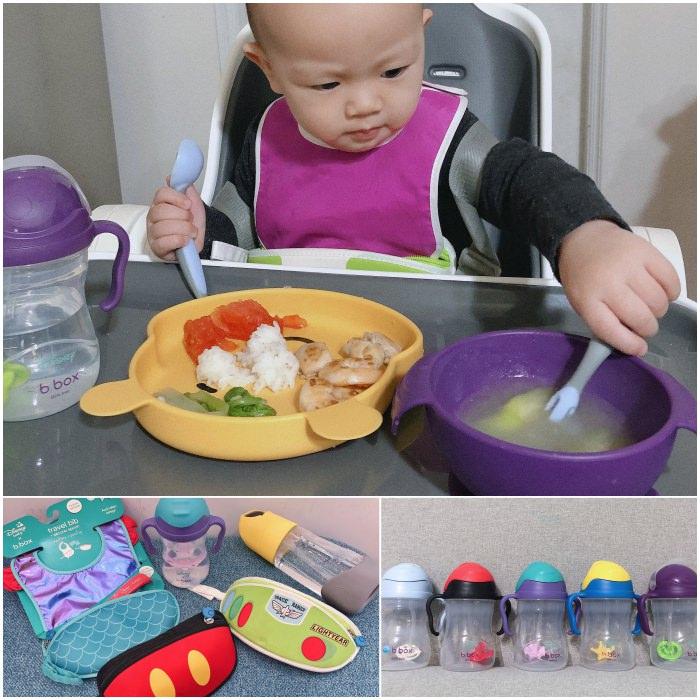 育兒好物│澳洲B.Box 迪士尼聯名防漏吸管水杯、圍兜袋、學習餐具、保溫水壺全系列