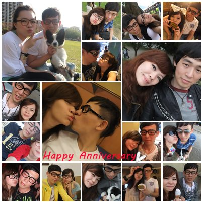 Happy Anniversary-謝謝你愛我 ♥♥♥