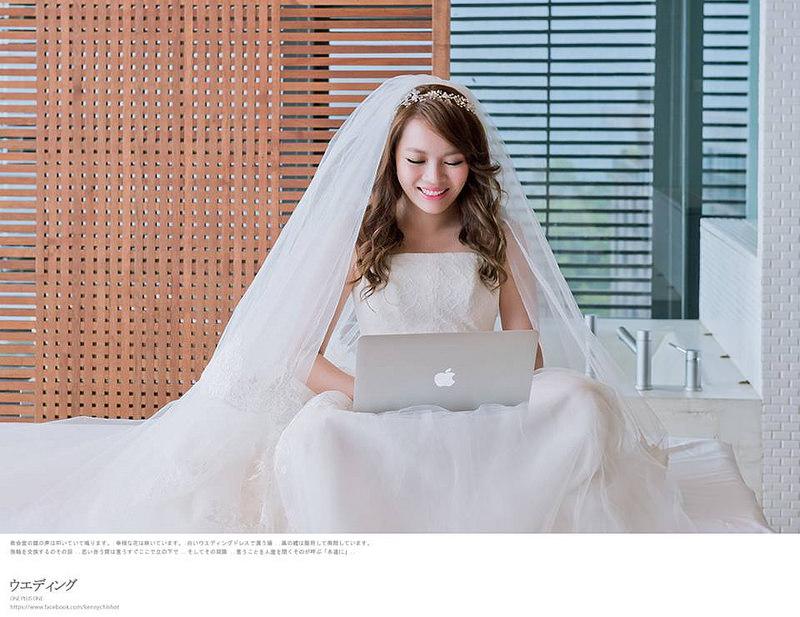婚前準備。新嫁娘的完美笑容必備一口亮白的牙齒