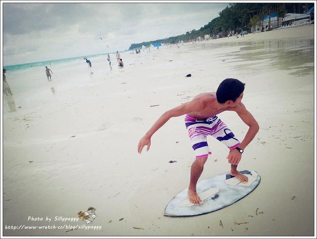 [2012☼長灘島] 沙灘上的全民運動►沙板Skimming Board