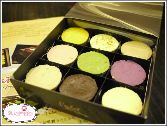 [試吃] L'eclat光芒手工起士蛋糕-mini 繽紛九宮格