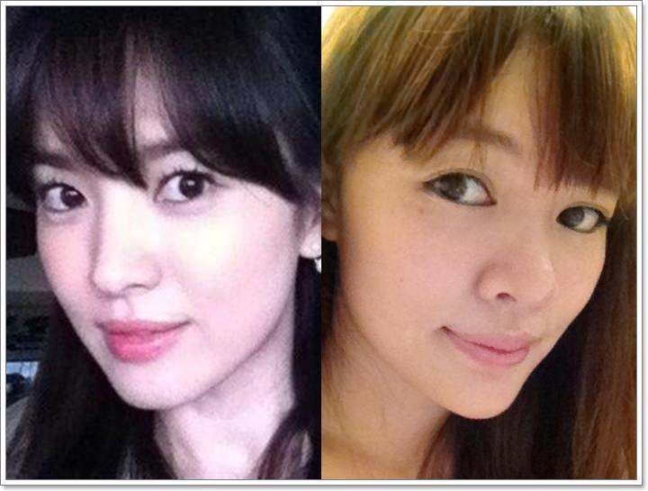 [美妝] 新手也能快速學會♥韓系好氣色宋慧喬仿妝