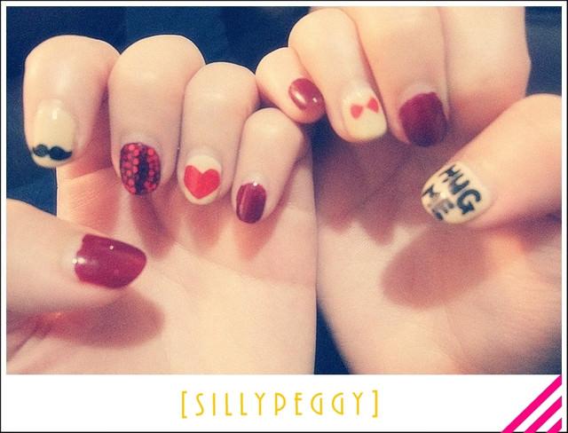 [指彩] 光療初體驗♥流動於指尖的小愛戀